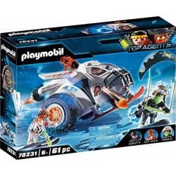 70231 Spy Team Planeador de...